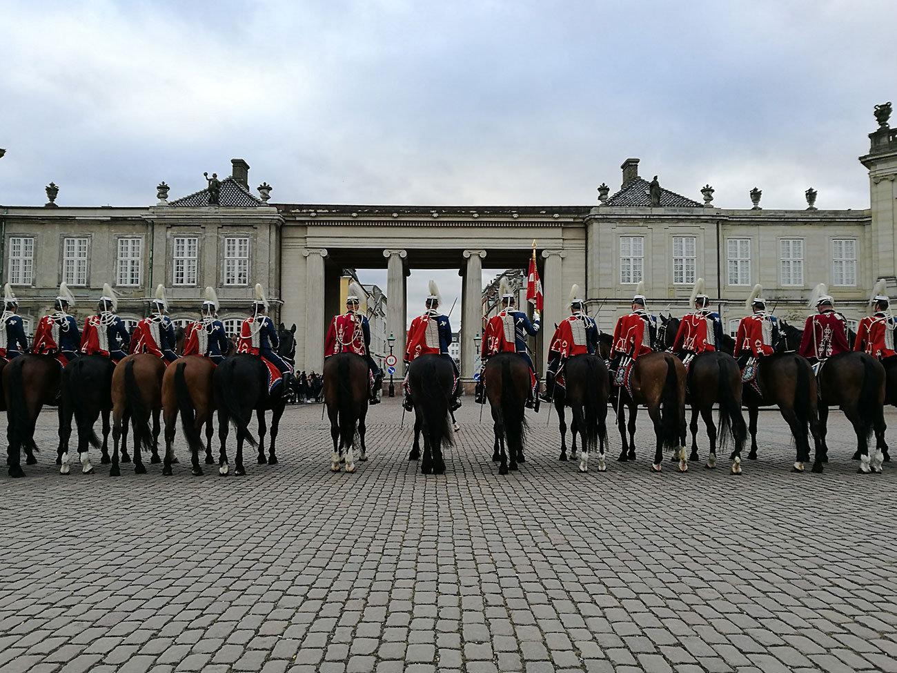 Tour Palacio de Amalienborg