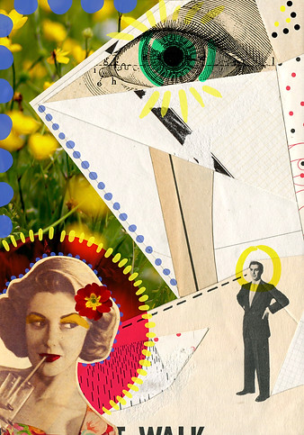 Handmade/digital collage made with the artist Zach Collins (USA). 2014