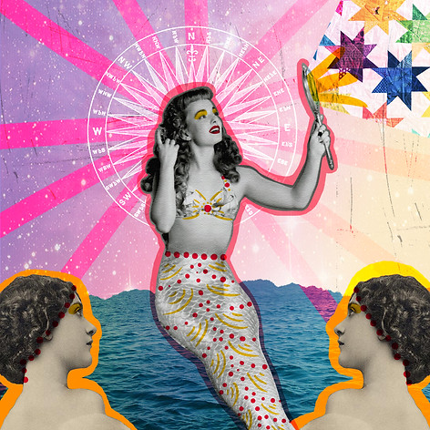 Handmade/digital collage made with the artist Jolene Casko (USA). 2015