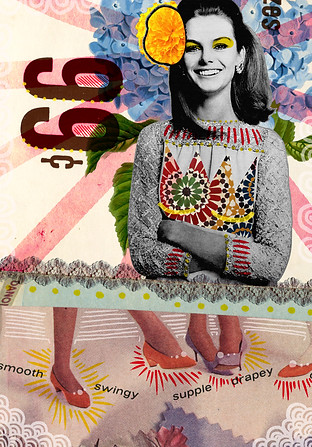 Handmade/digital collage made with the artist Zach Collins (USA). 2015
