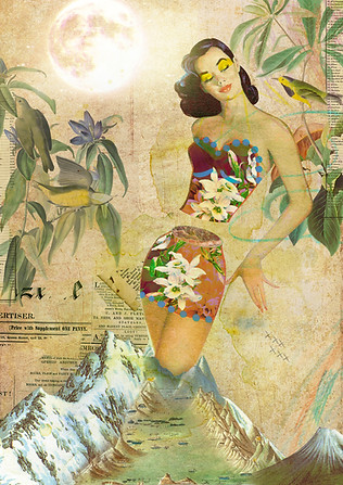 Digital collage made with the artist Marcel Lisboa (Brazil). 2014