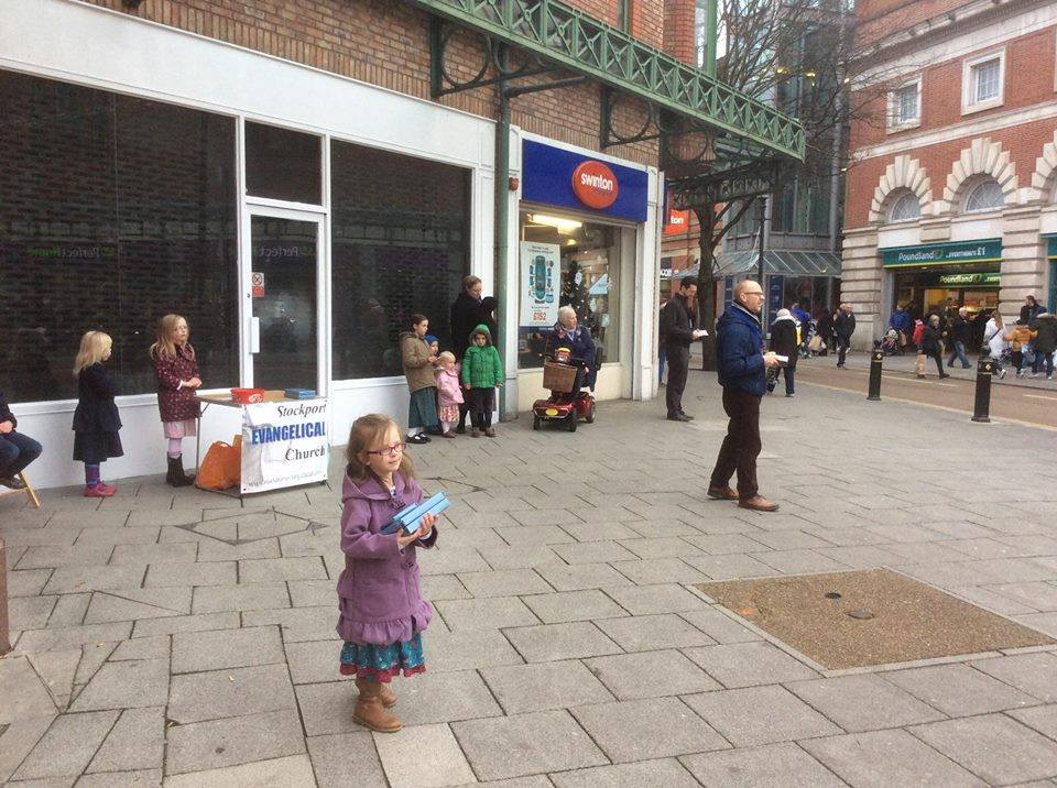 Sharing the Gospel at Stockport