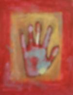 Acrylic Vingerpaint on Paper 2009