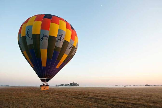 Hot air ballooning has begun at Vumbura Plains and Little Vumbura in the Okavango Delta