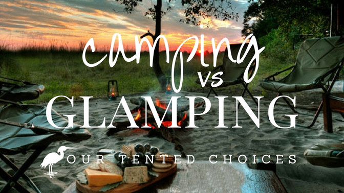 Camping vs Glamping with Bushtracks Africa