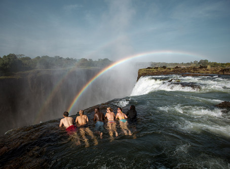 Devil's Pool, Zambia, is closed for the season