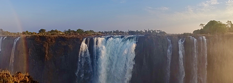 Victoria Falls is not dry - A story from the ground