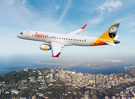 FastJet Zimbabwe amends Johannesburg - Victoria Falls route