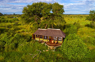 2Mapula Lodge - Chalet from the air copy