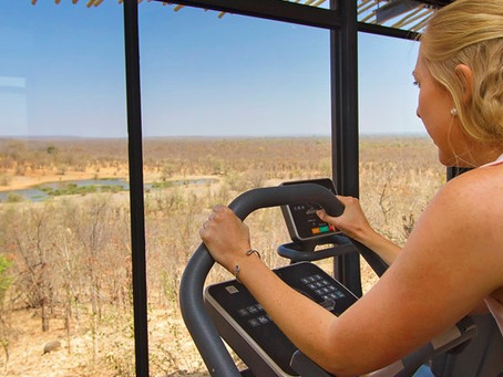 New fitness room at Victoria Falls Safari Lodge
