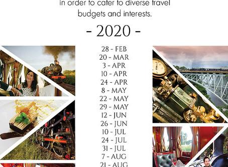 The Bushtracks Express alternative run dates for 2020