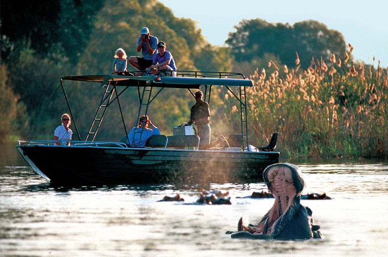 Victoria Falls River Safari