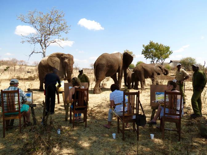 Art safaris heighten the intimacy of the African safari