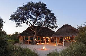 9Camp Kalahari - Main area with lanterns