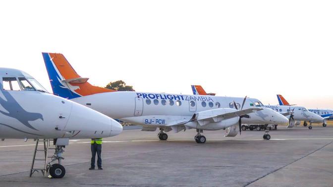 Proflight suspends Lusaka-Harare flights