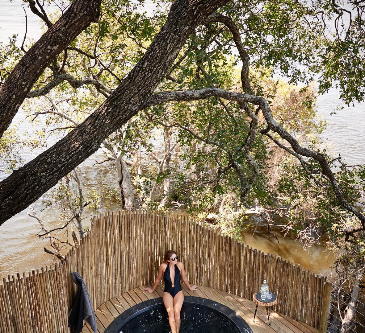 Victoria Falls Island Lodge