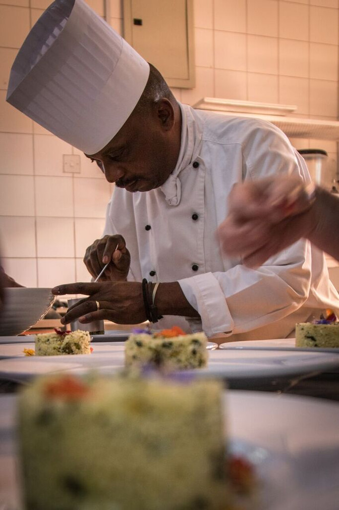 Gourmet dining straight out of Africa's pantry