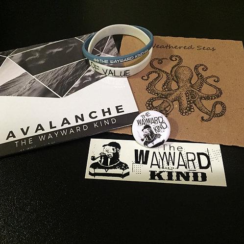 Combo 1 (2 cd, 2 bracelet, 1 button, 1 sticker)