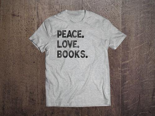 Peace. Love. Books.