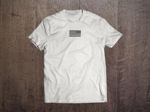 Reverse flag cream colored