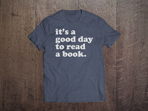 it's a good day to read a book