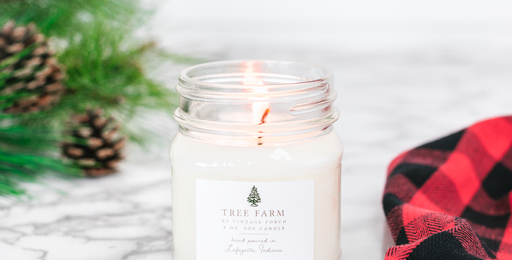 Antique Candle Co. Winter Collection - 8oz