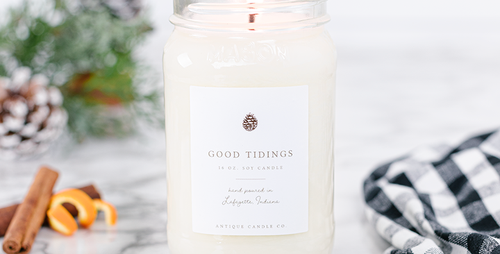Antique Candle Co. Winter Collection - 16oz