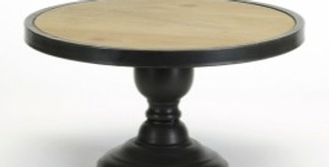 Round Wood/Metal Stand