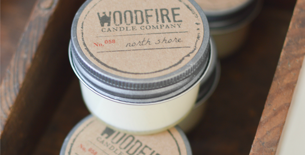 Jelly Jar Wood Wick Candle