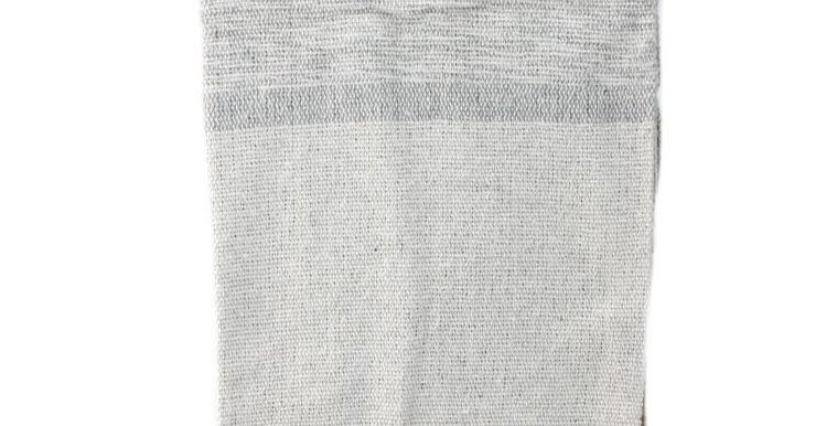 Grey Throw with Tassels