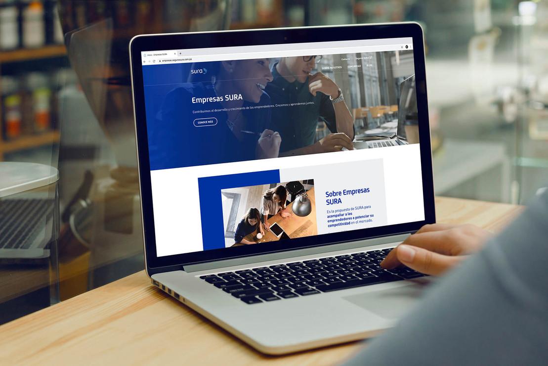 Empresas Sura - Web