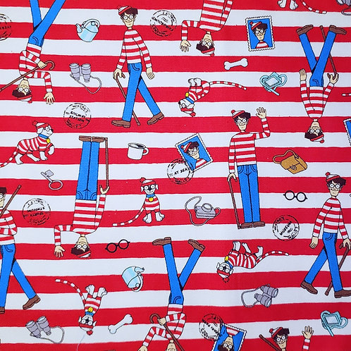 """Waldo"" Reversible Over-the-Collar Bandana"
