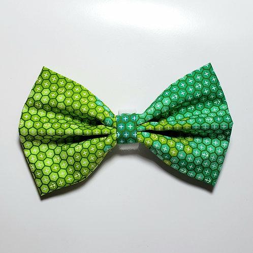 """Handmade """"Green Mamba"""" Bowtie"""