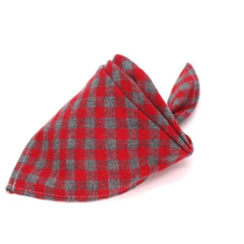 """""""Breton"""" Flannel Tie on Bandana"""