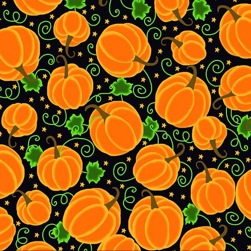 """Pumpkin Patch"" Reversible Over-the-Collar Bandana"