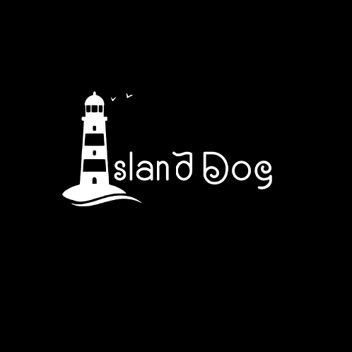 """Island Dog"" Reversible Over-the-Collar Bandana"