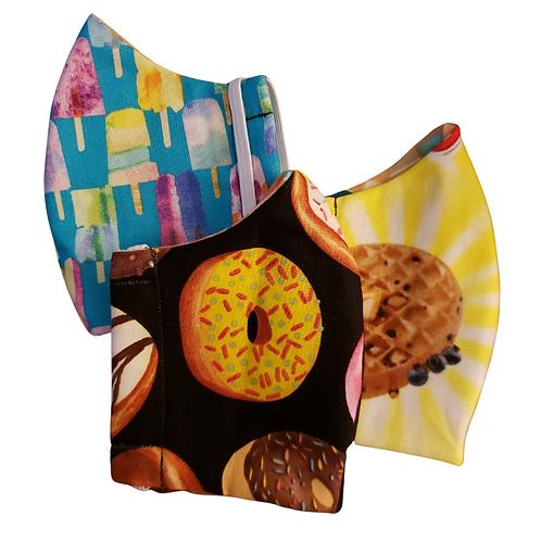 Food Themed Handmade Masks