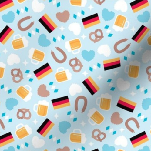 """Oktoberfest"" Reversible Over-the-Collar Bandana"