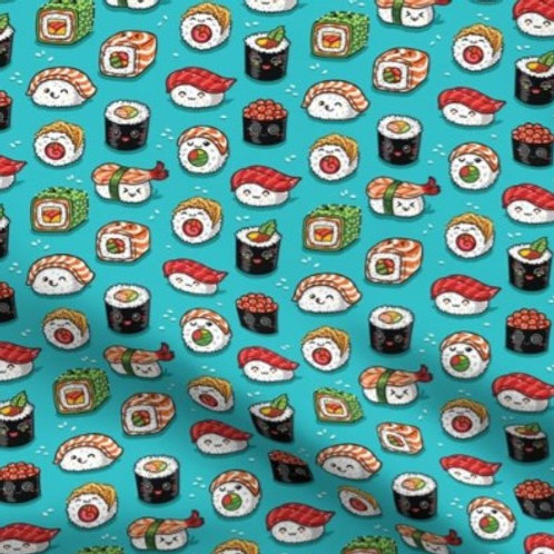 """Kawaii Sushi"" Reversible Over-the-Collar Bandana"