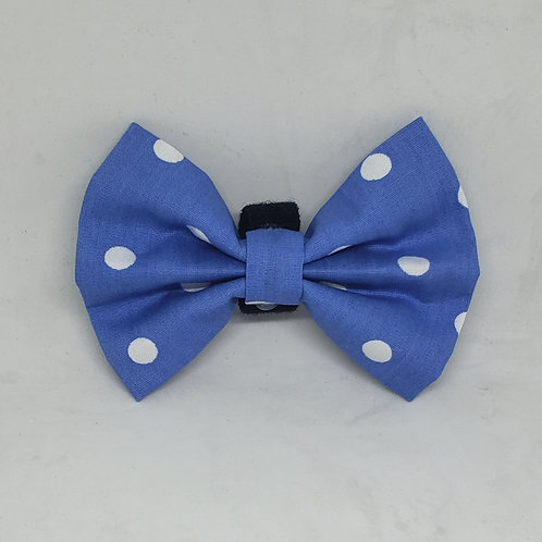 "Handmade ""Forget-Me-Not"" Bowtie"