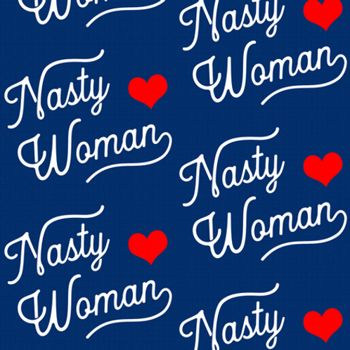 """Nasty Woman"" Over-the-Collar Bandana"