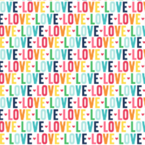 """Love is Love"" Reversible Over-the-Collar Bandana"