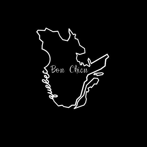 """""""Bon Chien"""" Reversible Over-the-Collar Bandana"""