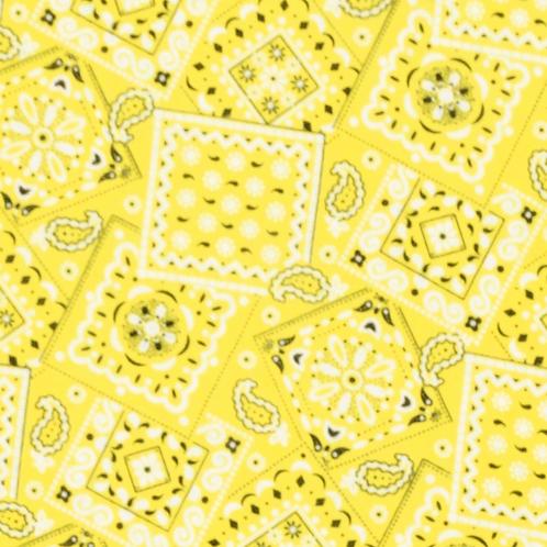 """Lemon"" Over-the-Collar Bandana"