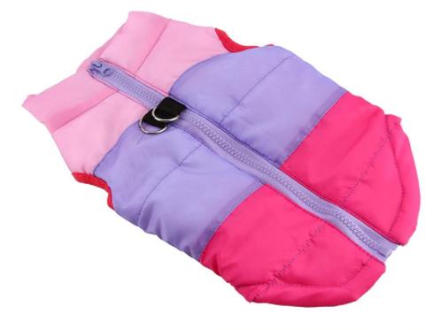 80s Skier Coat in Pink