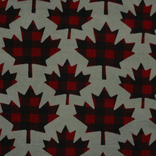 """Canadiana"" Flannel Over-the-Collar Bandana"