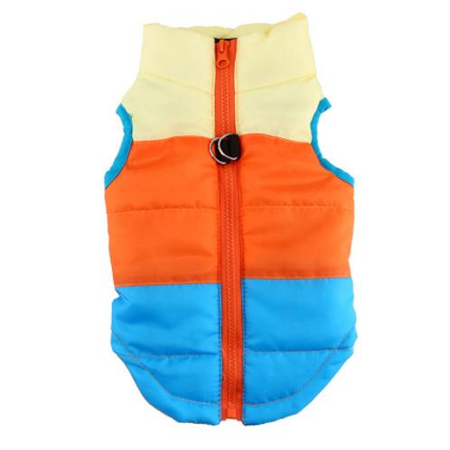 80s Skier Coat in Orange