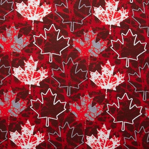 """""""Go Canada Go"""" Reversible Over-the-Collar Bandana"""
