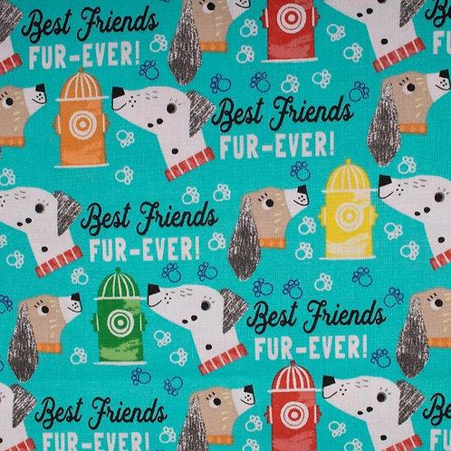 """Friends Fur-Ever"" Reversible Over-the-Collar Bandana"