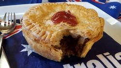 Aussie beef pie